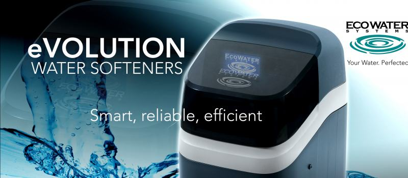 EcoWater eVOLUTION 100 & 200 Compact Water Softeners